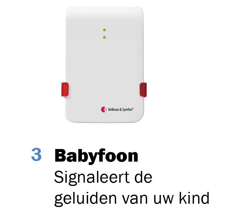 3. Babyfoon